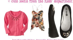 How to…Shop in the Kids' Department