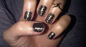 Just for Fun Fridays: How to...Get Cheetah Print Nails