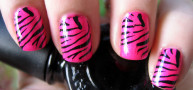How to…Get Zebra Print Nails