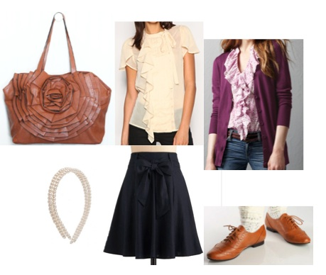 Fifties Outfit Collage