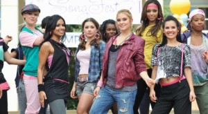 Sorority women depicted in ABC Family's Greek