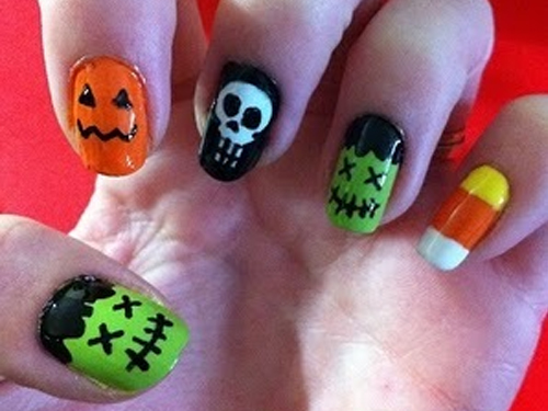 Halloween Nail Ideas | Every College Girl