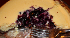 Boy-Approved Recipes: Blueberry Cheesecake With A Chocolate Crust