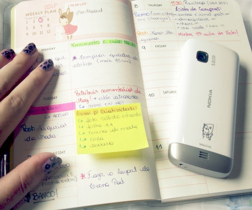 Stay Organized Using a Planner