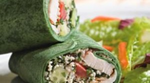How To.. Cook A Mediterranean Wrap, Perfect For Work Lunches