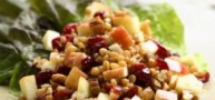 How To… Make A Delicious Wheat Berry Red Fruit Salad