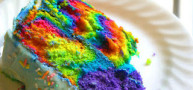 How To... Make A Tie-Dye Rainbow Cake