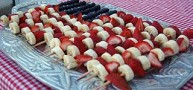 How To... Make The Perfect Fruit Kabob Flag For Independence Day