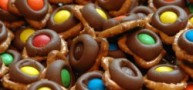 How To… Make A Simple And Delicious Treat, Chocolate Pretzels With M&M's