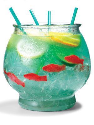 Summer Fish Bowl Drink