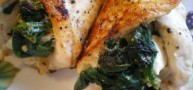 How To... Make A Spinach and Feta Stuffed Chicken, In 30 Minutes