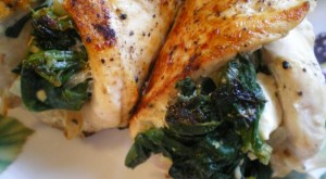How To… Make A Spinach and Feta Stuffed Chicken, In 30 Minutes