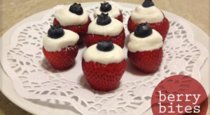 How To… Make Berry Bites, A Delicious Fourth Of July Treat