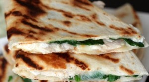 How To… Make Chicken, Goat Cheese and Spinach Quesadillas