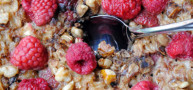 How To... Bake Blueberry and Raspberry Oatmeal