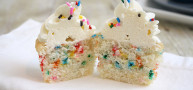 "How To… Make ""Skinny"" Funfetti Cupcakes"