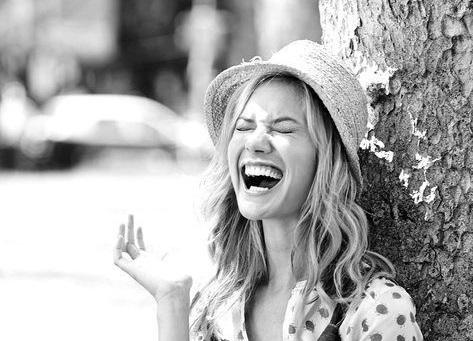 Freshman Girl Laughing