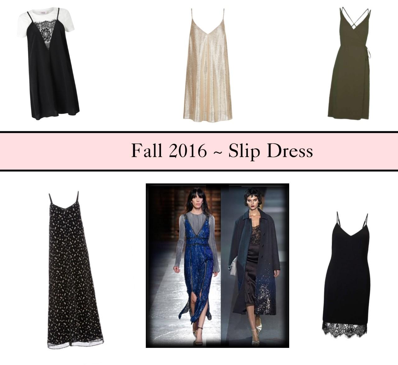 slip dresses fashion