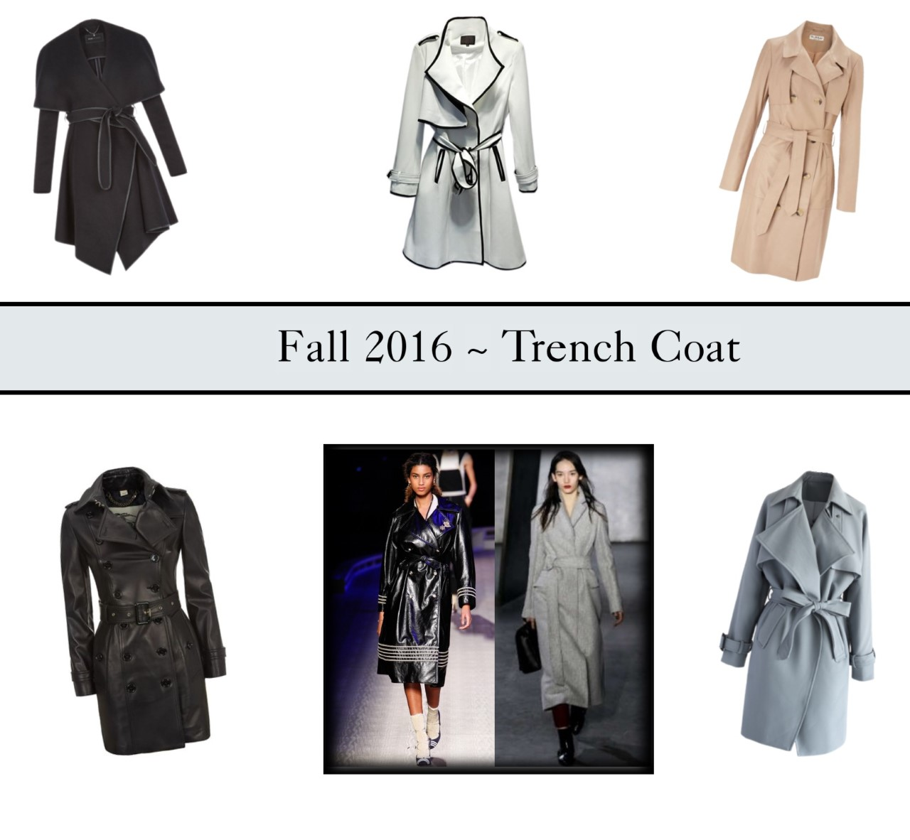 trench coat fashion
