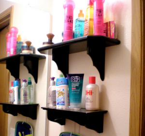 """Bathroom shelves"" (CC BY 2.0) by Adventures of Pam & Frank"